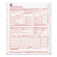 Paris Corporation CMS 02/12 Insurance Claim Form, 2-Part, White/Canary, 9 1/2 x 11, 1000 Forms PRB07116