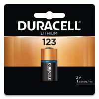 Duracell Ultra High-Power Lithium Battery, 123, 3V, 1/EA DURDL123ABPK