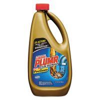 Liquid Plumr Heavy-Duty Clog Remover, Gel, 32oz Bottle, 9/Carton CLO00243