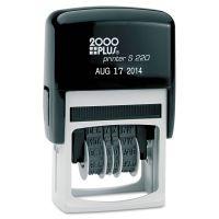 COSCO 2000PLUS Economy Dater, Self-Inking, Black COS010129
