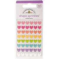 Doodlebug Sprinkles Adhesive Glossy Enamel Shapes NOTM313105