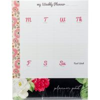 "My Happy Place Composition Planner Pad 7.5""X9.75"" 24/Pkg NOTM373450"