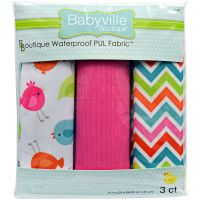 Babyville PUL Waterproof Diaper Fabric  NOTM141513