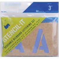 Stencil-It Reusable Lettering Set NOTM401316