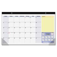 At-A-Glance QuickNotes Compact Monthly Desk Pad Calendar AAGSK71000