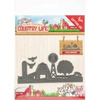 Find It Yvonne Creations Country Life Die NOTM448766