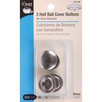 Half-Ball Cover Buttons NOTM091576