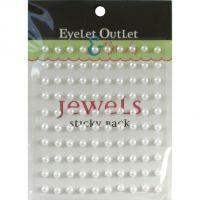 Bling Self-Adhesive Pearls 5mm 100/Pkg NOTM413144