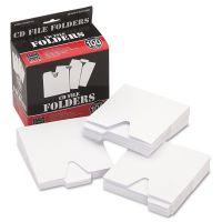 Vaultz CD File Folders, 100/Pack IDEVZ01096