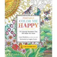Race Point Publishing Books: Portable Color Me Happy Coloring Book NOTM344573