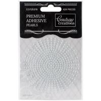 Couture Creations Self-Adhesive Pearls 2mm 424/Pkg NOTM365888