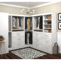 "Bestar Pur by Bestar 100"" Storage kit in White BESBES2685817"