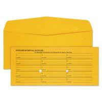 Quality Park Light Brown Kraft Interoffice Envelope, #11, 4 1/2 x 10 3/8, 500/Box QUA63262