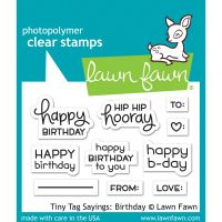 """Lawn Fawn Clear Stamps 3""""X2"""" NOTM439728"""