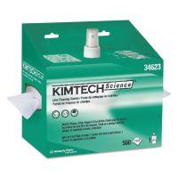 Kimtech* Lens Cleaning Station, 8oz Spray, 4 2/5 X 8 1/2, 560/Box, 4 Boxes/Carton KCC34623