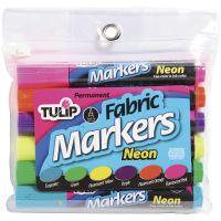 Tulip Fabric Markers 6/Pkg NOTM410310