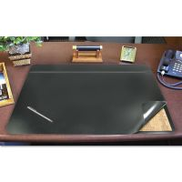 Artistic Hide-Away PVC Desk Pad, 24 x 19, Black AOP48041S