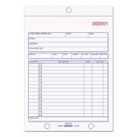 Rediform Sales Book, 5 1/2 x 7 7/8, Three-Part Carbonless, 50 Sets/Book RED5L350