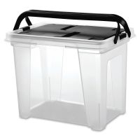 I.R.I.S. Portable Wing Lid File Box IRS111128