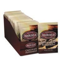 PapaNicholas Coffee Premium Hot Cocoa, Chocolate Peppermint, 24/Carton PCO79424