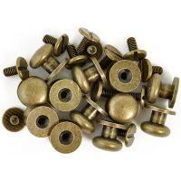 "Treasures Metal Drawer Knobs .375"" 12/Pkg NOTM033375"