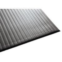 Guardian Air Step Antifatigue Mat, Polypropylene, 36 x 60, Black MLL24030502