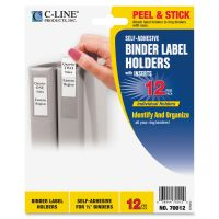 C-Line Self-Adhesive Binder Label Holder CLI70012