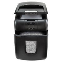 Swingline Stack-and-Shred 130M Auto Feed Micro-Cut Shredder, 130 Sheet Capacity SWI1758571