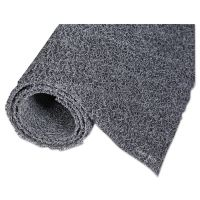 Crown Diamond Deluxe Duet Vinyl-Loop Scraper Mat, Vinyl, 36 x 60, Gray/Black CWNDXMU35BG