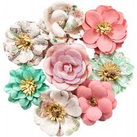 Havana Mulberry Paper Flowers 8/Pkg NOTM466842
