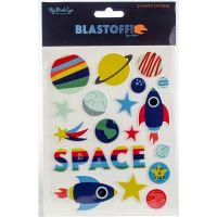 Blastoff Puffy Stickers NOTM361598