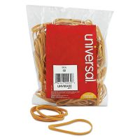 Universal Rubber Bands, Size 32, 3 x 1/8, 205 Bands/1/4lb Pack UNV00432