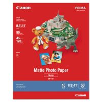 Canon Photo Paper Plus, Matte, 8-1/2 x 11, 50 Sheets/Pack CNM7981A004