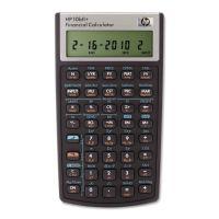 HP 10bII+ Financial Calculator, 12-Digit LCD HEW2716570