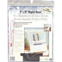 "LoRan Magnet Board 8""X10"" & 6"" Ruler NOTM072821"