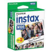 Fujifilm Instax Wide Film Twin Pack, 800 ASA, 20-Exposure Roll FUJ16468498