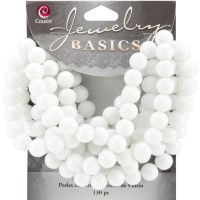 Jewelry Basics Glass Beads 8mm 130/Pkg NOTM205751