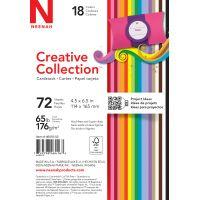 "Creative Collection Cardstock Starter Pack 4.5""X6.5"" 72/Pkg NOTM022539"