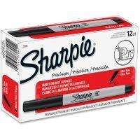 Sharpie Permanent Markers, Ultra Fine Point, Black, Dozen SAN37001