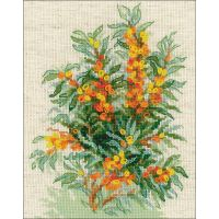 Sea Buckthorn Counted Cross Stitch Kit NOTM273736