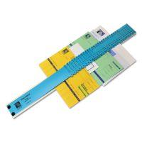 C-Line Sorter, A-Z/1-31/Jan-Dec/Sun-Sat/0-30,000 Index, Letter Size, Plastic, Blue CLI30526
