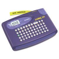 Casio KL-60L Label Maker, 2 Lines, 6-5/8w x 4-1/2d x 1-1/16h CSOKL60L