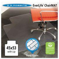 ES Robbins 45x53 Lip Chair Mat, Multi-Task Series for Hard Floors, Heavier Use ESR132123