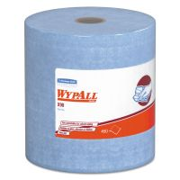 WypAll* X90 Cloths, Jumbo Roll, 11 1/10 x 13 2/5, Denim Blue, 450/Roll, 1 Roll/Carton KCC12889