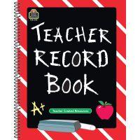 Teacher Created Resources Spiral Teacher Record Book NOTM044217