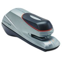Swingline Optima Grip Electric Stapler, Half Strip, Auto/Manual, 20 Sheets, Silver SWI48207