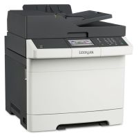 Lexmark CX410de Multifunction Color Laser Printer, Copy/Fax/Print/Scan LEX28D0550