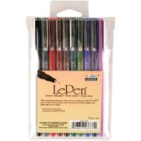 Le Pen Dark Set 10/Pkg NOTM317057