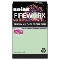 Boise FIREWORX Colored Paper, 20 lb, 11 x 17, Popper-mint Green, 500 Sheets/Ream CASMP2207GN