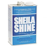 Sheila Shine Stainless Steel Cleaner & Polish, 1gal Can SSI4EA